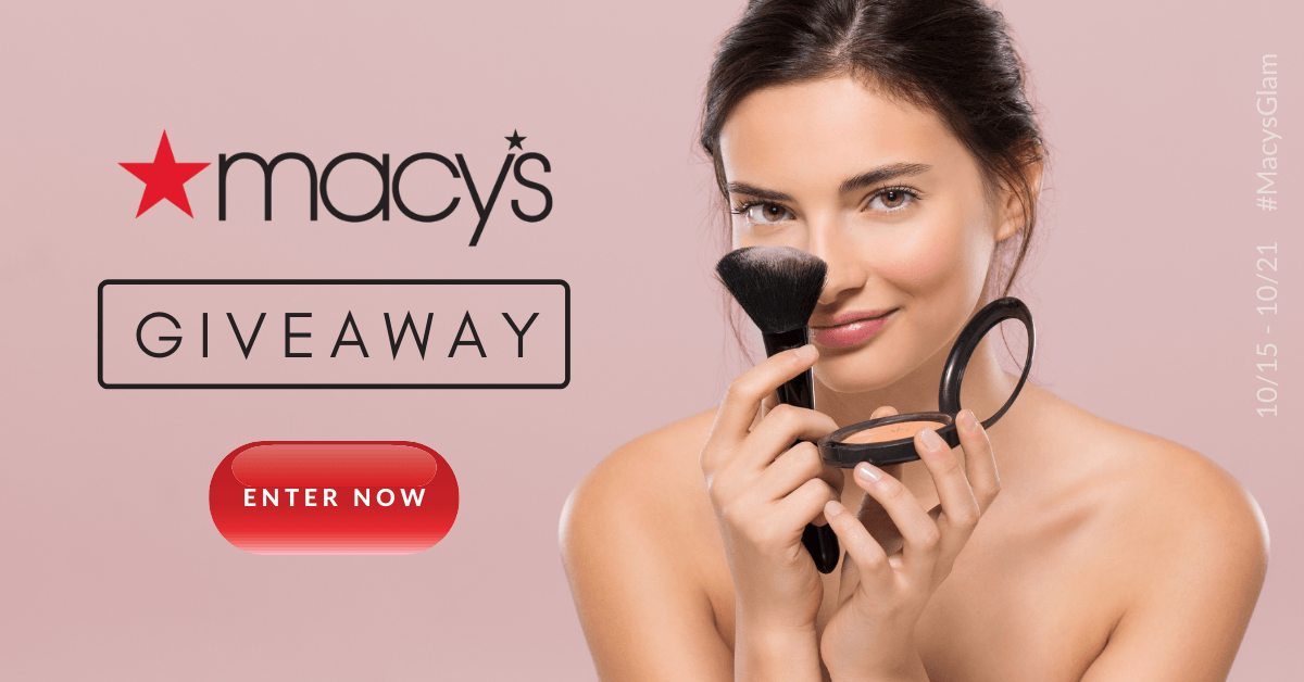 Win a $100 e-gift card to spend at Macy's!